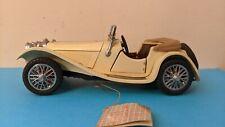 1/24 FRANKLIN MINT 1938 JAGUAR SS-100 DIECAST W/ HANG TAG Roadster NO RESERVE!
