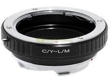 Anello adapter x montare ottiche Contax/Yashica su corpi Leica M. ALM.