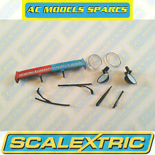 W9259 Scalextric Spare Rear Wing & Accessory Pack for BMW Mini Cooper