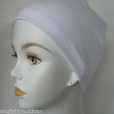 Ladies Cancer Chemo CPAP Soft Sleep Caps Hair Loss Head Cover Scarf Liners