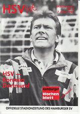 BL 89/90 Hamburger SV -  Borussia Dortmund
