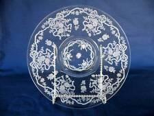 "Fostoria ""Romance"" - 14"" Torte Plate #2364 -  Etching # 341"
