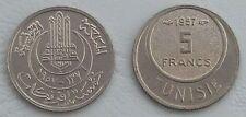 Tunesien / Tunisia 5 Francs 1957 p277 unz.