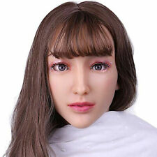 IMI Alice Realistic Silicone Female Mask Full Head Mask Halloween Crossdresser