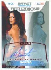 "SARITA ""RED AUTOGRAPH CARD /25"" TNA REFLEXXIONS"