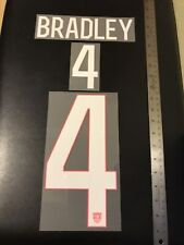 AUTHENTIC USA 2014 WORLD CUP NAMESET MICHAEL BRADLEY #4 AWAY JERSEY SPORTING ID