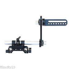 CAMTREE Hunt EVF Mount Rod Adapter Bracket For LCD Monitors Viewfinder Mic