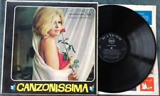 V.V.A.A. / CANZONISSIMA - LP (printed in Italy 1962) RARE !