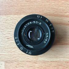 Industar-50-2 50mm F/3.5, M42 (Carl Zeiss Jena Tessar T 50mm f/3.5)