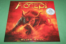 ACCEPT BLIND RAGE CLEAR VINYL 2LP 100 COPIES