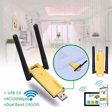 AC 1200Mbps Wifi Repeater 2.4GHz/5GHz Dual Band USB 3.0 RTL8812AU Adapter