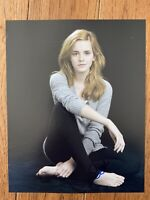 Emma Watson barefoot Harry Potter Signed 8x10  100% Letter Of Authenticity