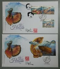 Autograph Ornamental Fishes Dragon Arowana Malaysia First Day Cover FDC 2018