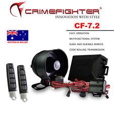 CRIMEFIGHTER CF-7.2 Keyless Entry One Way Car Alarm System