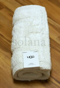 """UGG EMMA Bath One Rug Reversible 20"""" x 32"""" Thick 100% Cotton Made in India New"""