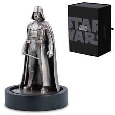 Star Wars - Darth Vader ™ 150g pure Silver Miniature antique finnish LE1.000
