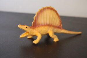 1986 Dinosaurs Dinosaur Figure PVC Dimetrodon