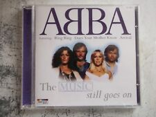 ABBA THE MUSIC STILL GOES ON music cd.
