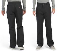 DICKIES 5 Pocket Wide Leg Mens Pants 34x32 #LP813BK W34xL32