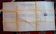 LARGE LONDON ST. PANCRAS & CARLISLE STATION PLAN   ARMLEY