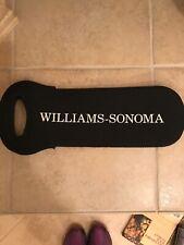 Williams Sonoma WINE Bottle Tote Gift Bag Black by BUILT Insulated Neoprene.