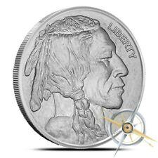1 oz Silver Round - Buffalo Nickel