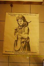 AF1 Ancienne affiche - Protection des animaux - Traite les comme si c'était toi