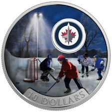 Canada 2017 $10 Passion to Play: Winnipeg Jets - Pure Silver Coin Tax-Exempt