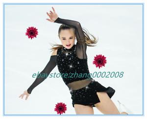Ice Skating Dress.Figure Skating Competition Dress.Twirling Baton Dance Custom