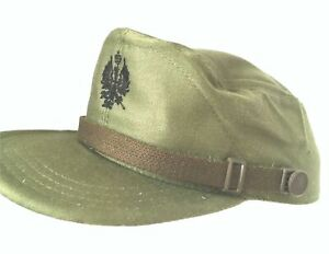 Castro Cap GI Hat ORIGINAL Spanish Military Airsoft Olive Green XL 60cm NEW VTG