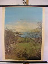 Schulwandbild Schottland Scotland Highlands Loch Sunart Glasgow 55x71 vintage