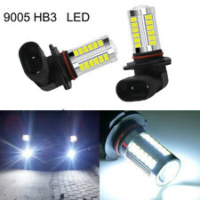 2Pcs 9005 HB3 White 6000k DRL Daytime Running Light Bulbs 33 Chips Led Projector