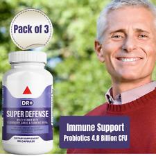 Emergency Immune Support w/ Elderberry, Zinc, Vitamin C & Probiotics, 3-Pack