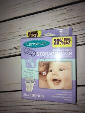 Lansinoh Breastmilk Storage Bags, 30 Count