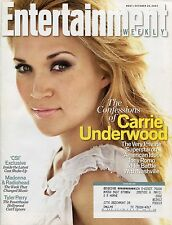 CARRIE UNDERWOOD Entertainment Weekly Magazine October 26, 2007 10/26/07  A-1-2