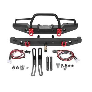 1:10 RC Metal Front Rear Bumper for Crawler Car Traxxas TRX-4 SCX10II 90046