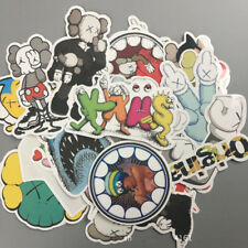27pcs/Lot Original Fake Cap Kaws Stickers Car Skateboard Luggage Laptop Decals