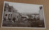 Postcard Scotland High Street Mallaig real photo unposted