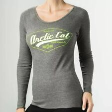 Arctic Cat Motorsports Women's Thermal Ride For Life Gray Size Large 5283-474
