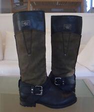 REPLAY Boots Stiefel schwarz / oliv Gr. 37