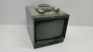 """Sony PVM-97 9""""  Monochrome Black and White CRT Video Monitor"""