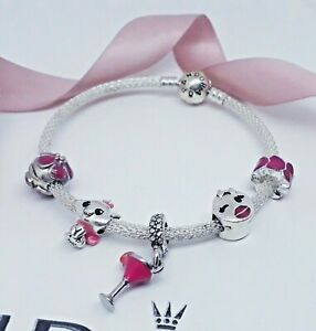 SILVER MOMENTS CHARM BRACELET PLUS  MIXED THEMED CHARMS
