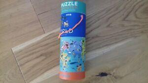 crocodile creek 200 piece world animals poster jigsaw puzzle