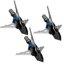 "New G5 Outdoors Deadmeat Expandable Broadhead 100 Grain 3 Pack 1.5"" Cut #0850"