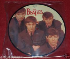 "THE BEATLES LOVE ME DO & P.S. I LOVE YOU 7"" PICTURE DISC 45 RPM MINT NEVER USED"