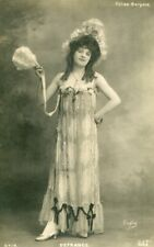 Vintage French RPPC postcard - Actress miss Defrance UC867