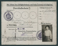 Kaiserliche Marine Wilhelmshaven Militärpolizeimeister Hillmer Dienstsiegel 1918