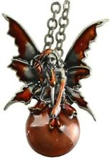 Mystic Fairy Bubble-rider necklace ~ Amy Brown