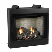 Deluxe 32 VF LF Firebox, Sassafras Logset & IP Slope Glaze Burner - NG