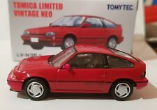 Tomica Limited Vintage Neo - Honda Ballade Sports CR-X Si - Red